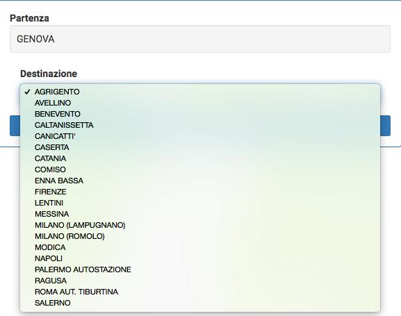 collegamenti con Genova