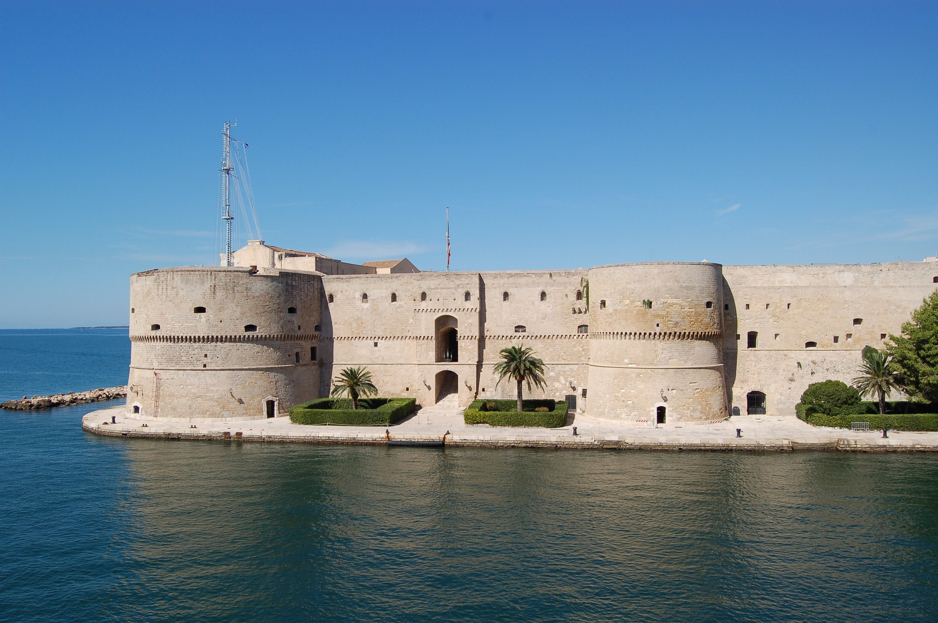 Castello Aragonese, Taranto, Italia