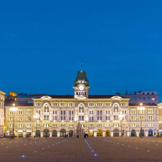 Trieste, Piazza Unità d''Italia