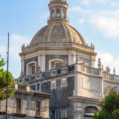 Cattedrale di Sant'Agata a Catania, Sicilia, Italia