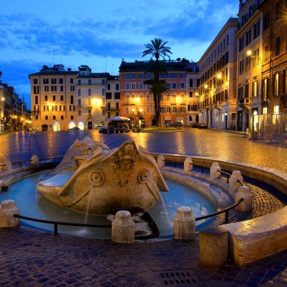 Fontana Barcaccia a Roma