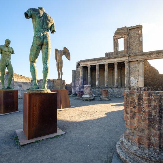 Rovine di Pompei, Napoli
