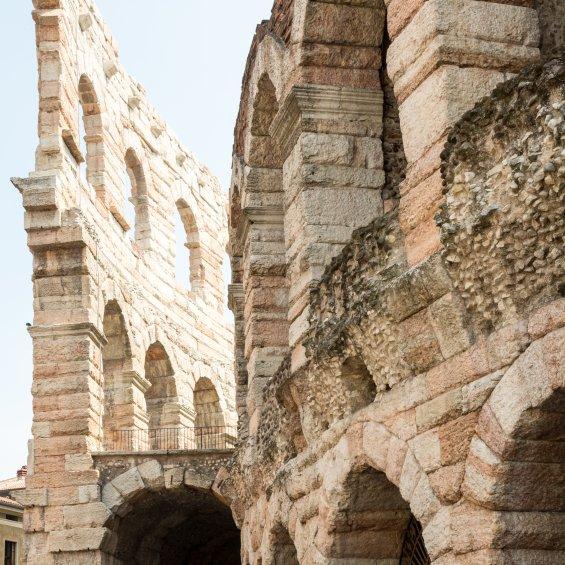 Arena, Anfiteatro romano, Verona, Veneto, Italia