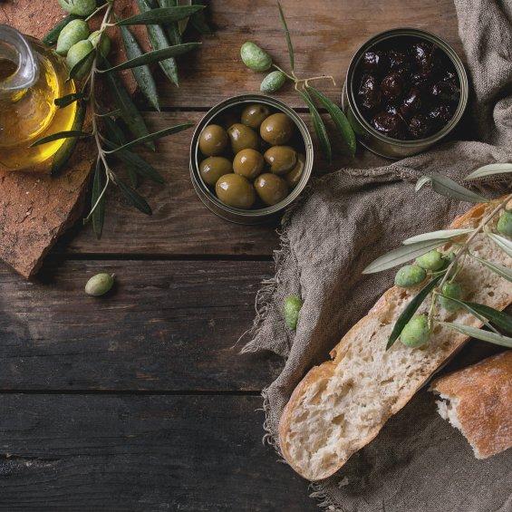 Pane e olive