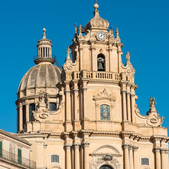 Duomo di San Giorgio a Ragusa, Sicilia, Italia