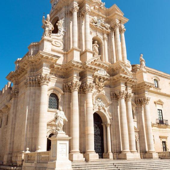 Duomo di Siracusa, Sicilia, Italia